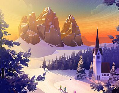 За активный зимний отдых тюменцы могут выиграть доску для сноуборда