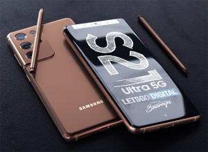 Samsung Galaxy S21 Ultra получит плоский экран