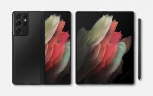 Samsung Galaxy Z Fold 3 Ultra показали на качественном рендере