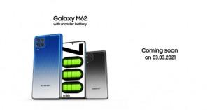 Samsung Galaxy M62 выйдет 3 марта