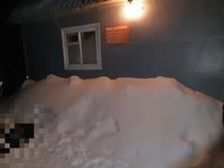 Охранник замерз насмерть в 15 метрах от сторожки
