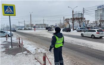 На выходных ГИБДД проследит за красноярскими пешеходами и водителями