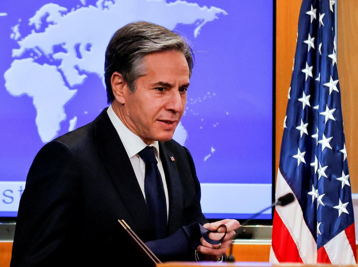США поддерживают идею создания 'Крымской платформы' - Блинкен