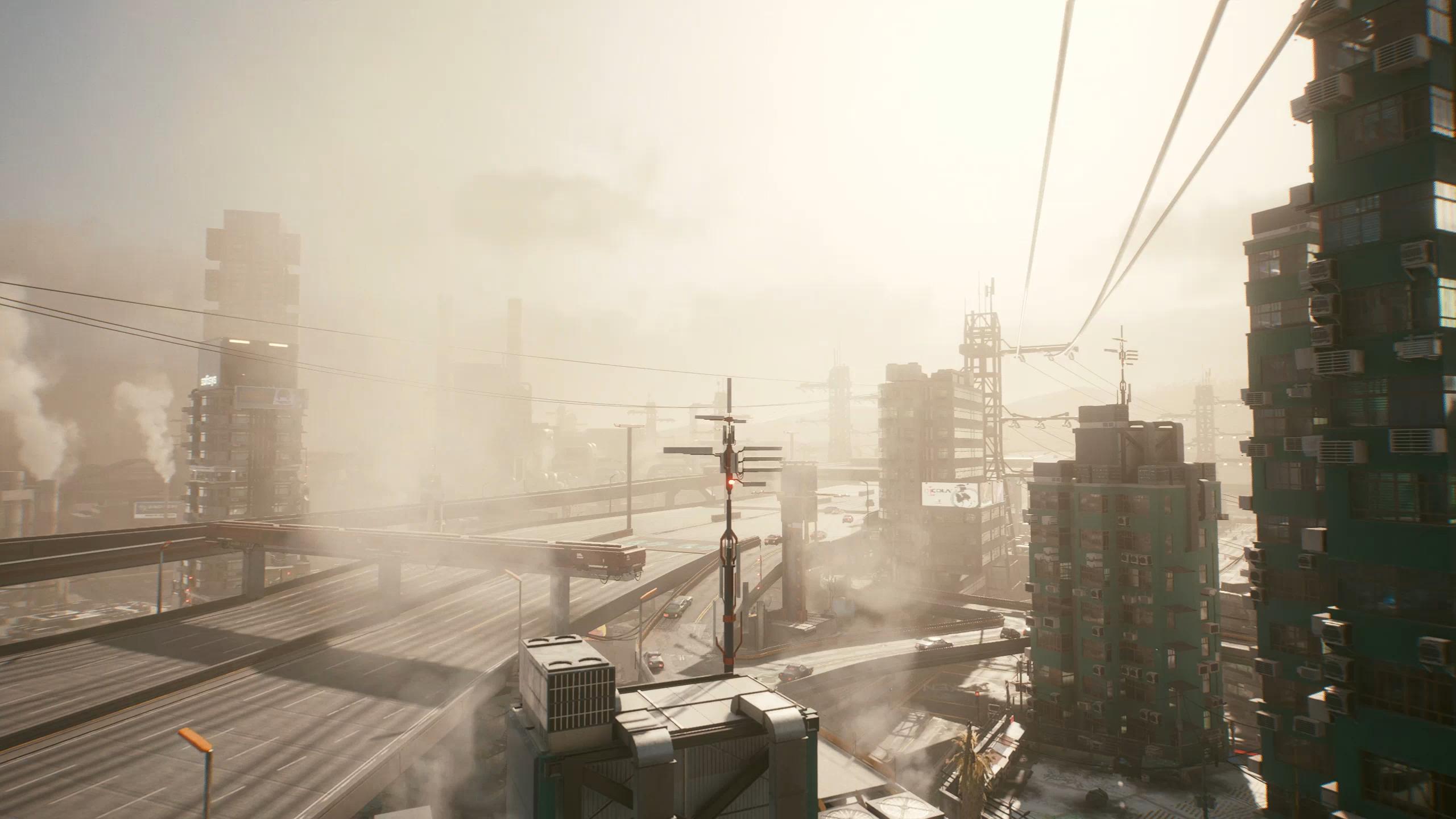 Для Cyberpunk 2077 вышел мод, позволяющий менять погоду