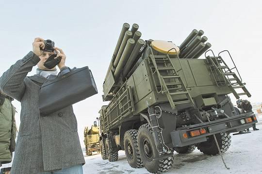 Российский зенитный комплекс попал в руки американцев