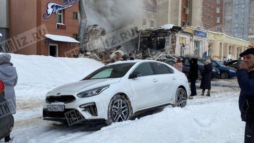 Видео с места взрыва в жилом доме Нижнего Новгорода