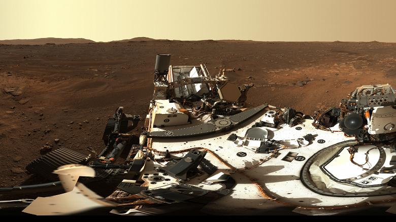 Первая панорама Марса в огромном разрешении и 5600 фото с ровера Perseverance