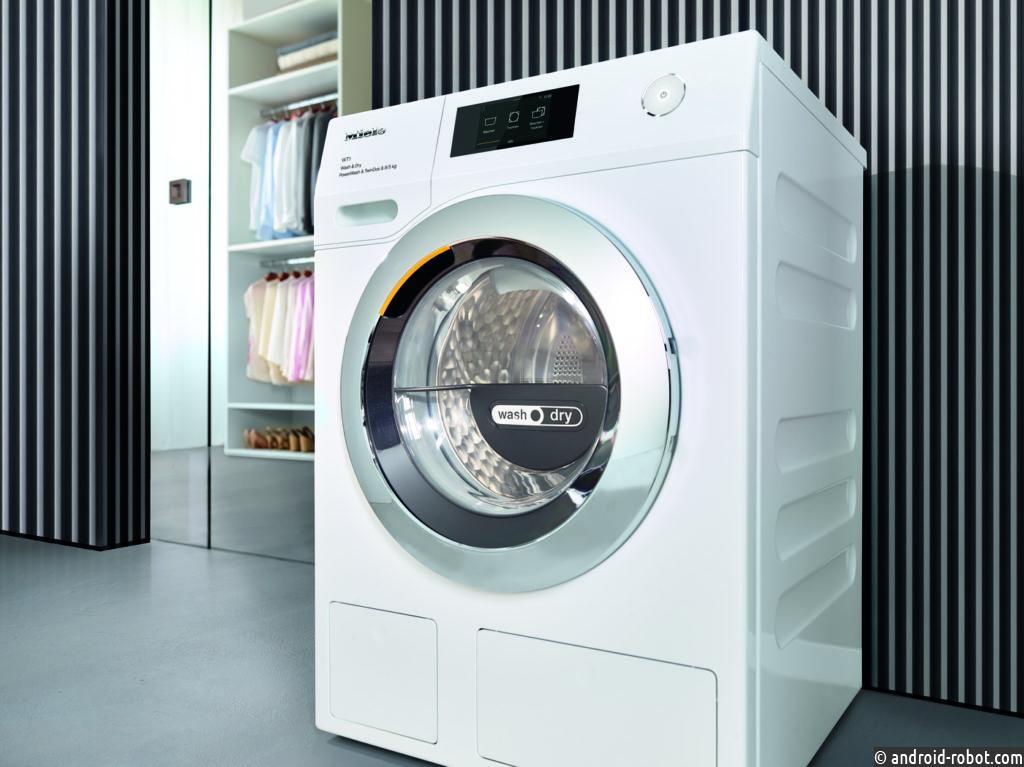 Miele представила усовершенствованную серию стирально-сушильных машин WT1