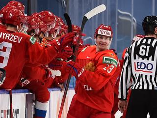 Российские хоккеисты обыграли шведов на чемпионате мира