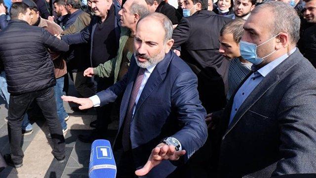 Арташес Гегамян: Никол Пашинян провоцирует гражданскую войну в Армении (Iravunk, Армения)