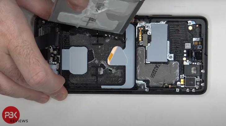 Ремонт Samsung Galaxy S21 Ultra: больше не всегда лучше