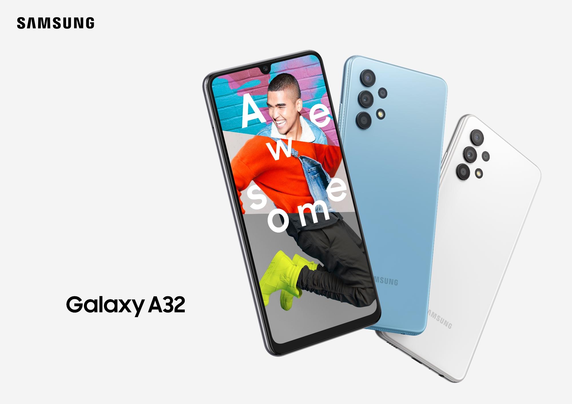 ⚡Samsung Galaxy A32 4G: первый 📱 смартфон A-серии c AMOLED-дисплеем на 90 Гц 👍