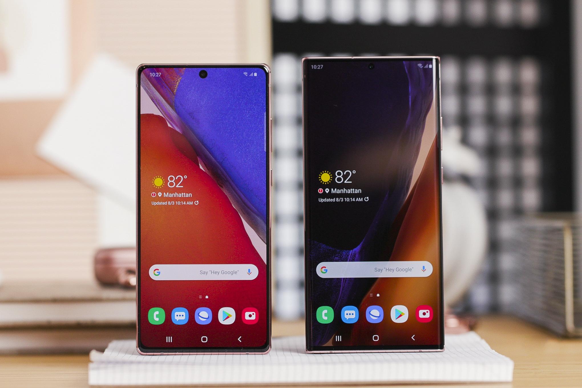 Дождались: Samsung выпустила обновление Android 11 с One UI 3.0 для Galaxy Note 20 и Galaxy Note 20 Ultra