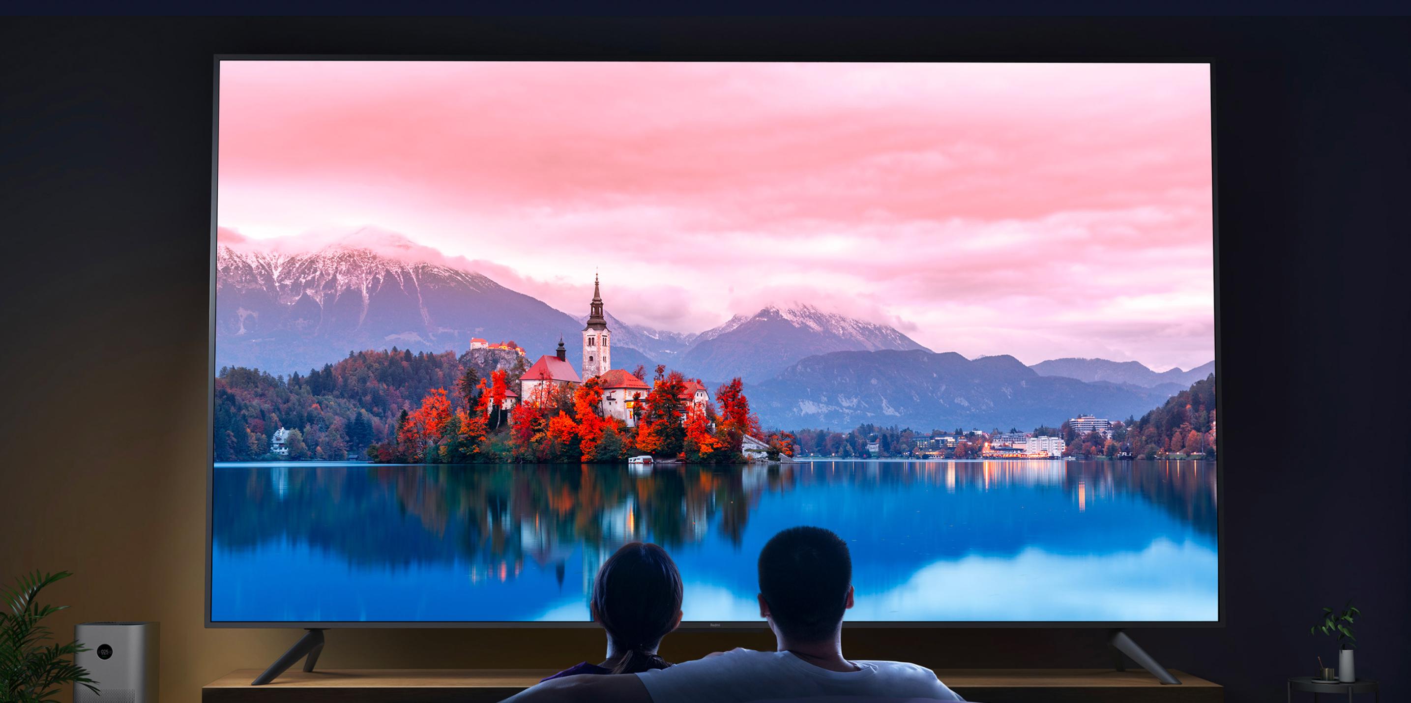 Не только Redmi K40 и RedmiBook Pro: Xiaomi 25 февраля покажет обновлённый гигантский телевизор Redmi TV Max