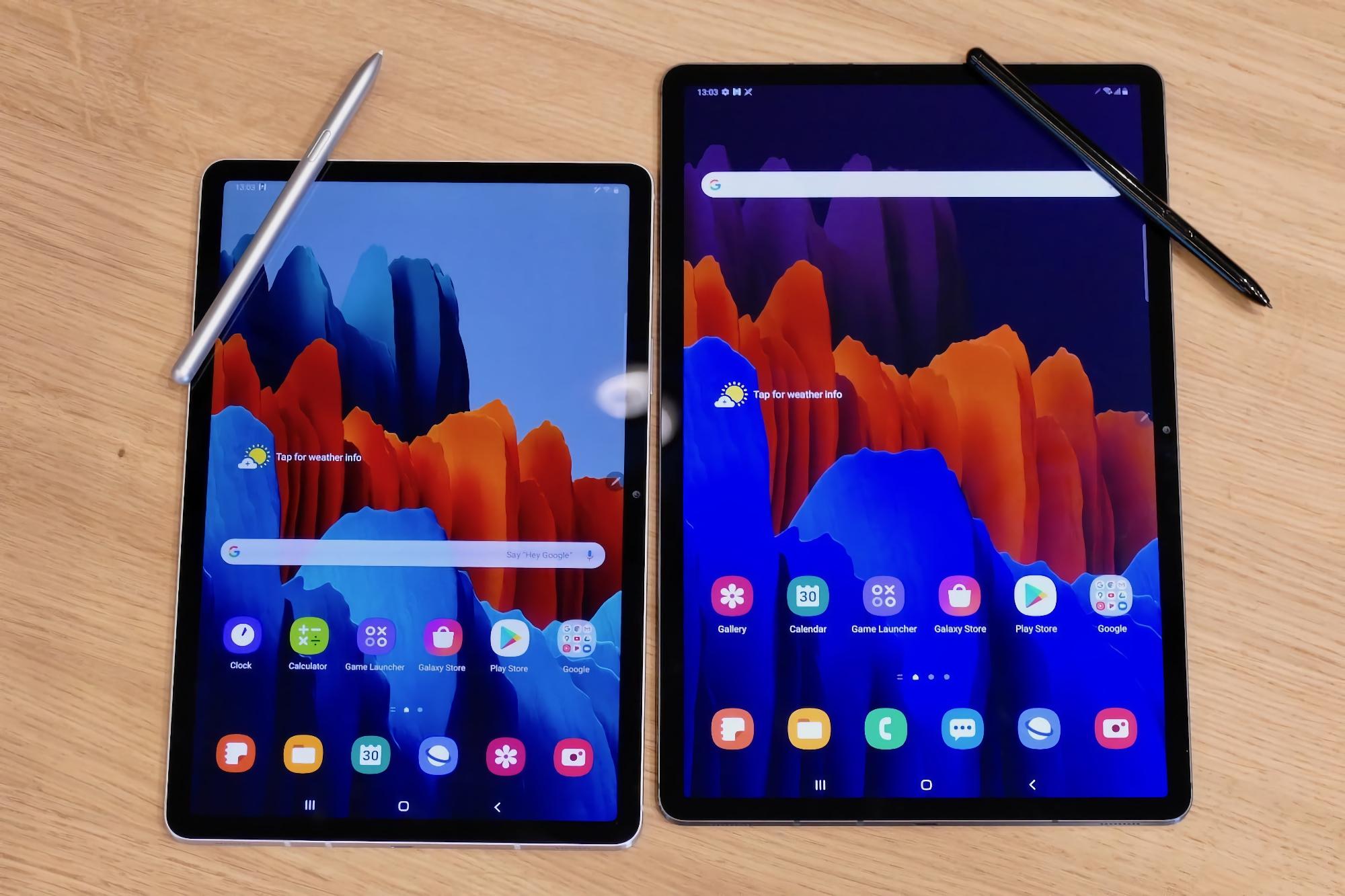 Galaxy Tab S7 и Galaxy Tab S7+ стали первыми устройствами Samsung, которые получили оболочку One UI 3.1 по воздуху