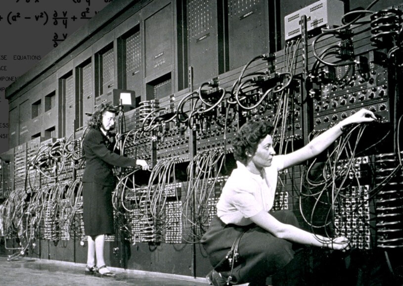 Первому современному компьютеру исполнилось 75 лет. Каким он был?