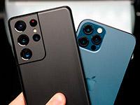 Сравнение камер Samsung Galaxy S21 Ultra и iPhone 12 Pro Max