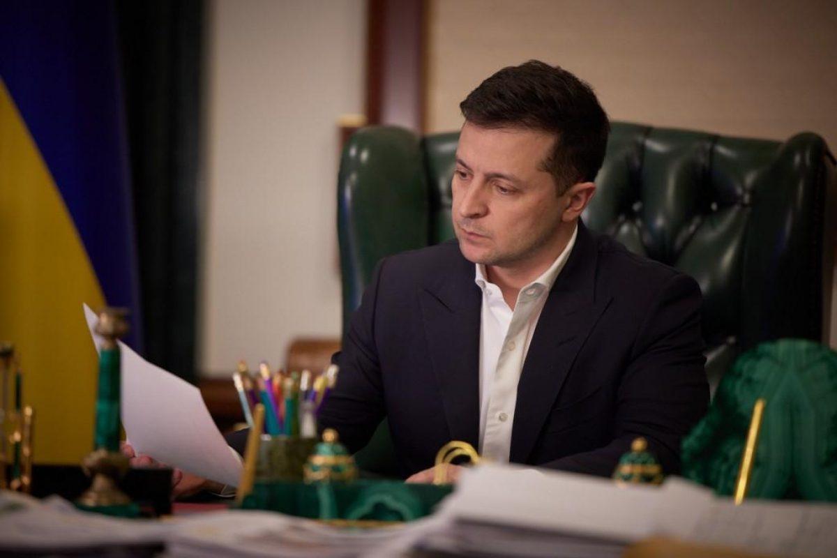 Зеленский поручил наказывать виновных за невыполнение решений СНБО