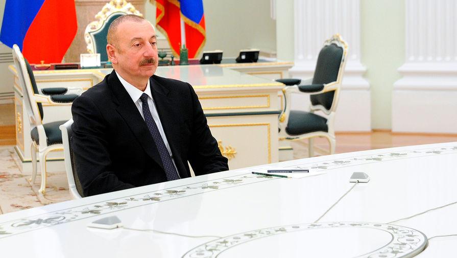 Алиев: Баку передал Еревану всех военнопленных
