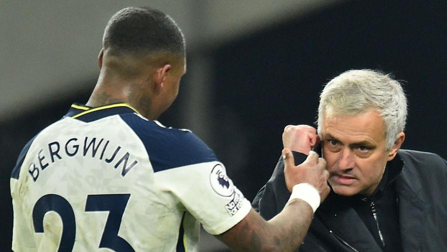 Моуринью признан лучшим тренером ноября в Английской премьер-лиге