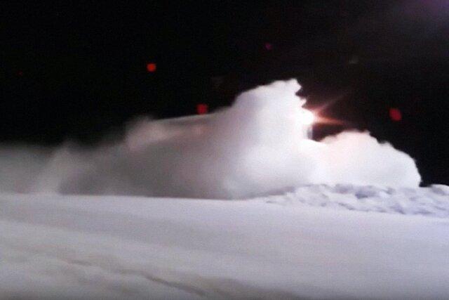 По Челябинской области проехался адский трамвай. Со стороны он выглядел как снежный ураган