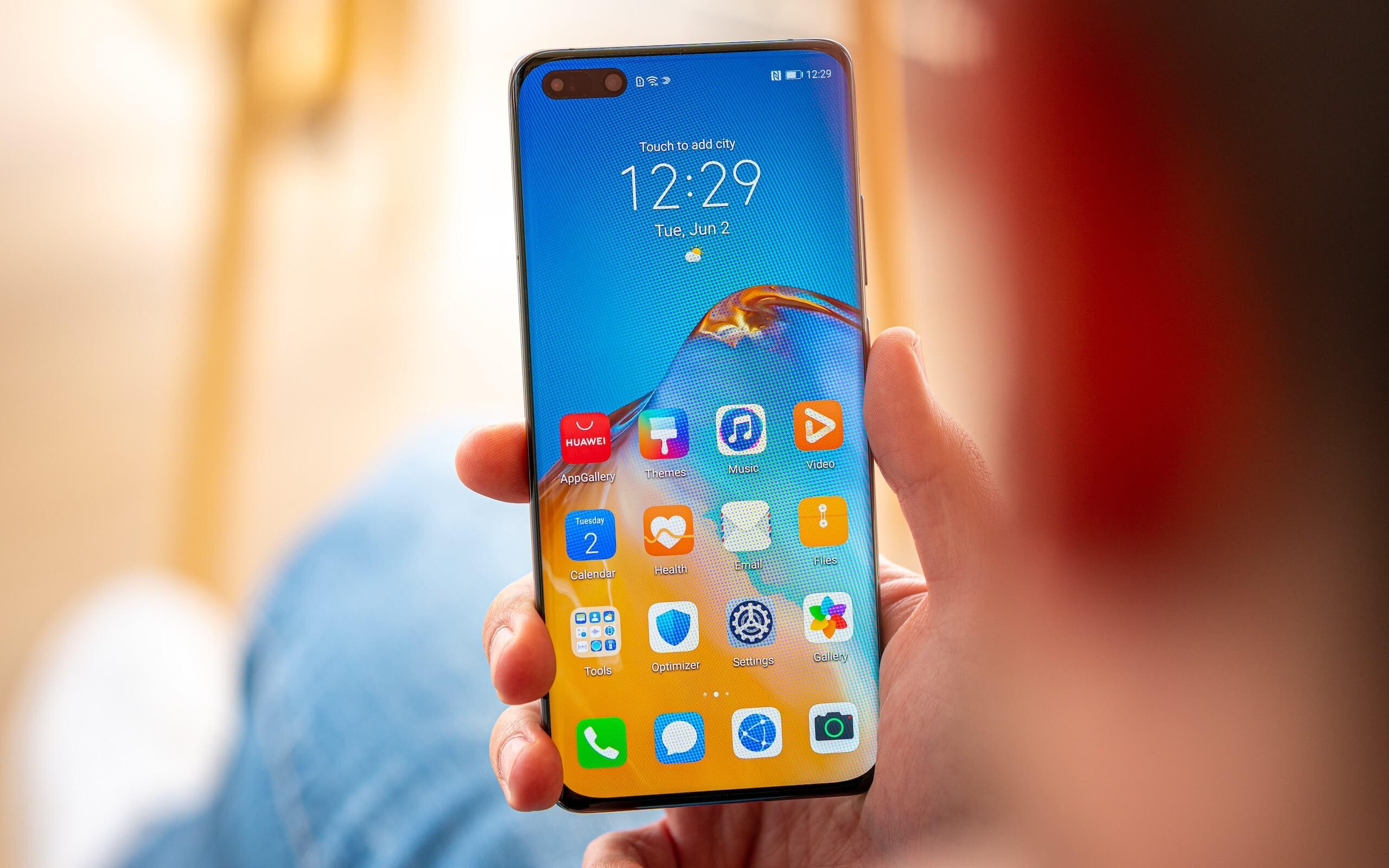 Huawei представила версию смартфона Huawei P40 без 5G