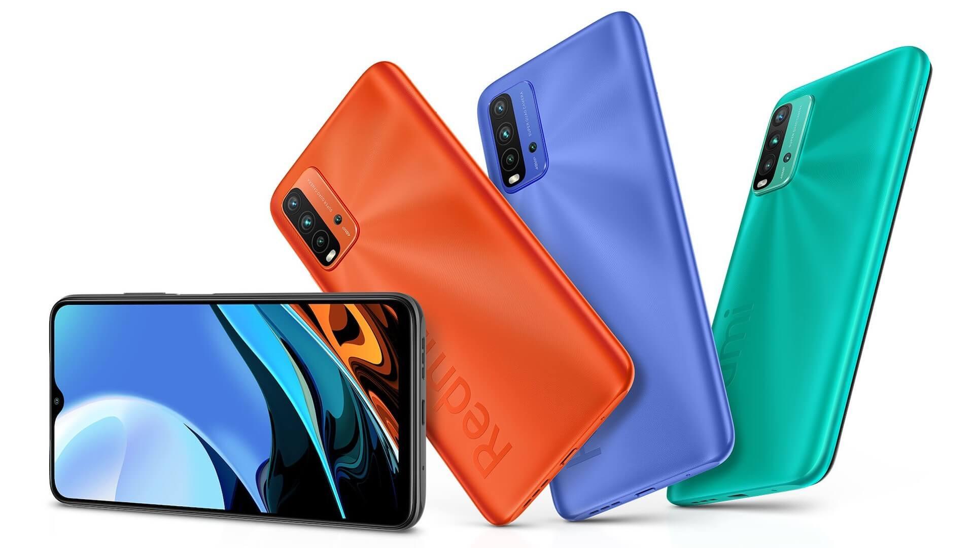 Xiaomi представила смартфоны Redmi Note 9T и Redmi 9T с батареей на 6000 мАч