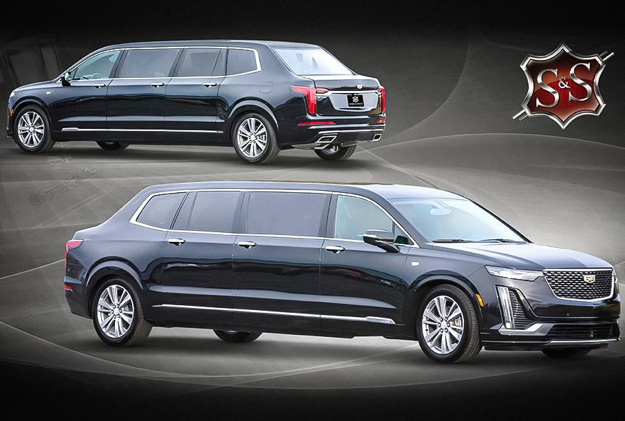 Посмотрите на «президентский» лимузин на базе Cadillac XT6
